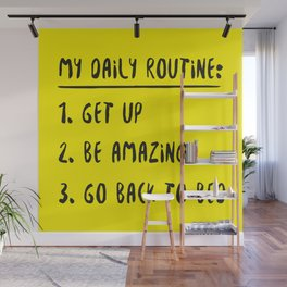 My Daily Routine Wall Mural