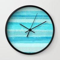 bar Wall Clocks featuring Sand Bar by T30 Gallery