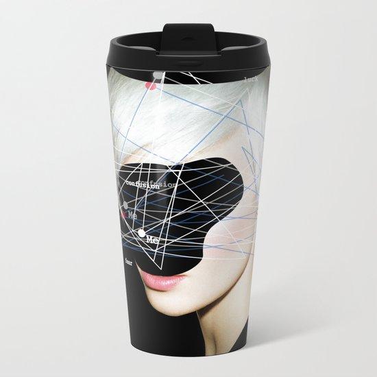 identity 4 Metal Travel Mug