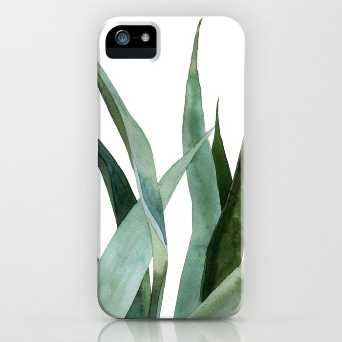 Agave plants iPhone Case