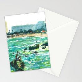 Blues of Barceloneta Stationery Cards