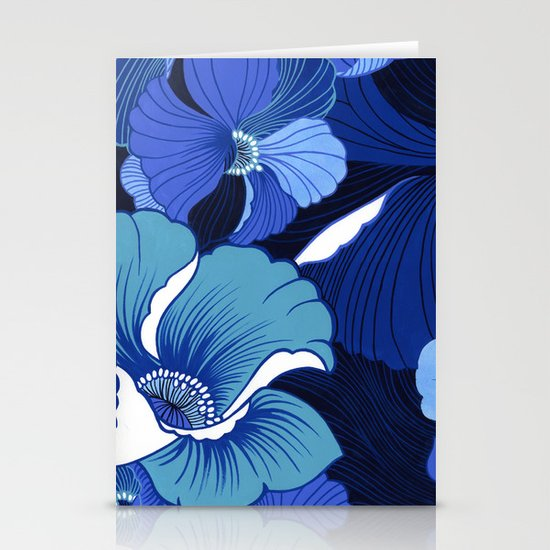 Blue For Poppies Stationery Cards