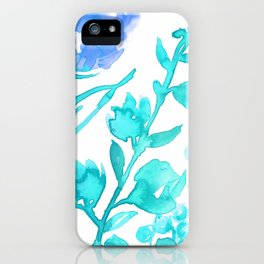 Abstract floral & square #8 iPhone Case