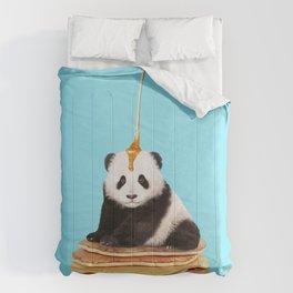 PANCAKE PANDA Comforters