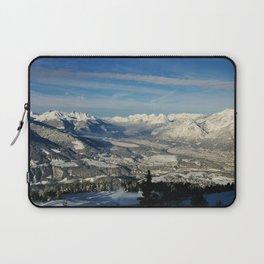 Innsbruck In Winter From Patscherkofel Mountain Laptop Sleeve
