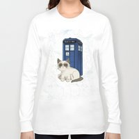 tardis Long Sleeve T-shirts featuring TARDIS by Arcade