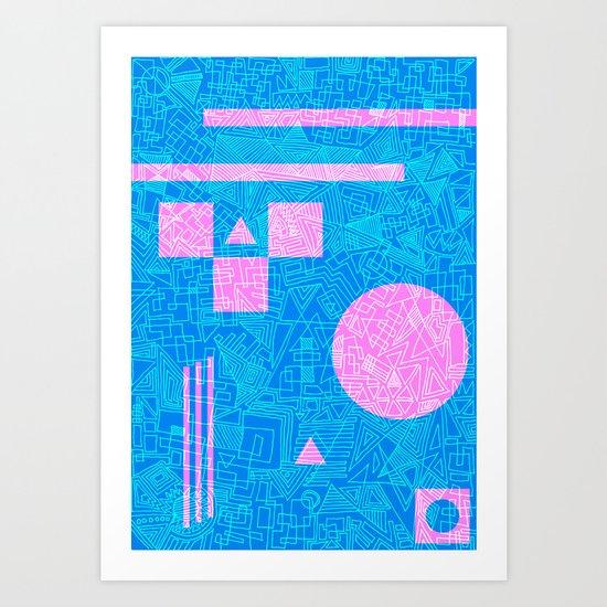 Futurism Art Print