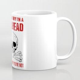 Metalhead - Funny Rock Black Dark Heavy Metal Coffee Mug