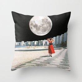 Moonwalk Throw Pillow