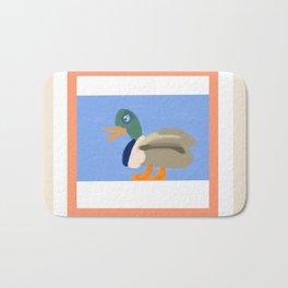 A Duck Walks the Talk Bath Mat