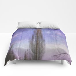 Ultra Violet Sunset Comforters