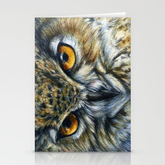 Owl 811 Stationery Cards