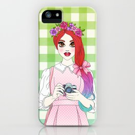 Pretty as a Picture iPhone Case