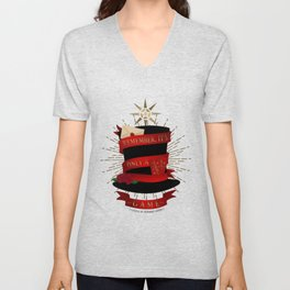Remember, It's Only A Game | Caraval Unisex V-Neck