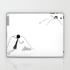 Snowball fight Laptop & iPad Skin