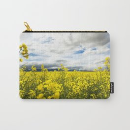 Fields of yellow - Floral Photography #Society6 Carry-All Pouch