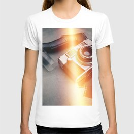 Vintage Camera and Film II T-shirt