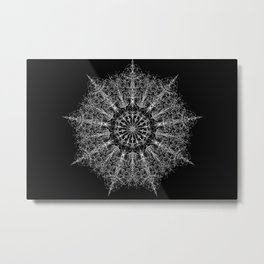 Ice Star Metal Print
