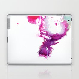 Happiness Now Abstract Watercolor Painting Laptop & iPad Skin