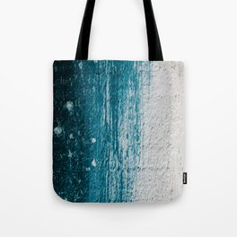 Distressed Wood Tote Bag