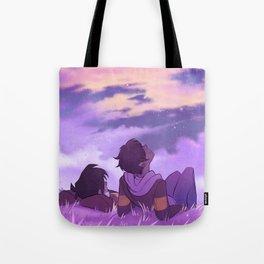 Stargazing Klance Tote Bag