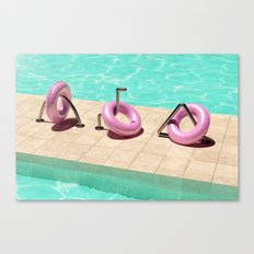 Summer Vibes (Float-3) Canvas Print