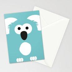 Minimal Koala Stationery Cards