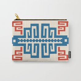 Blue Inca Carry-All Pouch