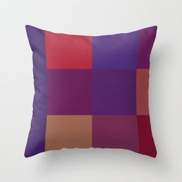 Expect Victory (95 Northwestern Wildcats) Throw Pillow