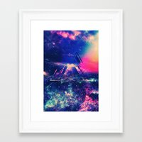 future Framed Art Prints featuring future  by Cubano
