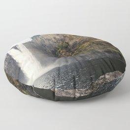 Snoqualmie Waterfall Floor Pillow