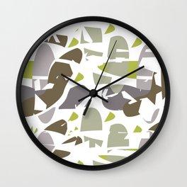 Hidden Space II Wall Clock
