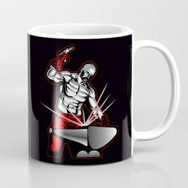 illustration of a blacksmith Coffee Mug