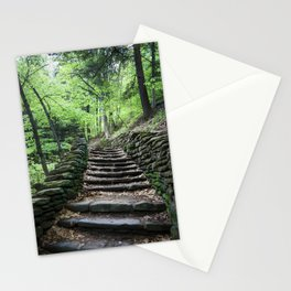Stairway To Spring - Letchworth Stationery Cards