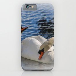 swans iPhone Case