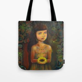 Daughter of the Moon Tote Bag