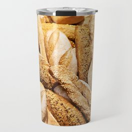 Bread baking rolls and croissants Travel Mug