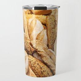 Bread baking rolls and croissants Travel Mug