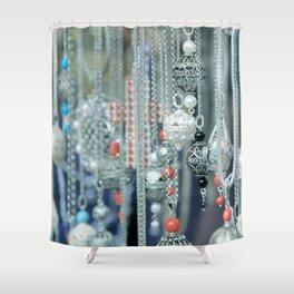Dubrovnik Pendants - JUSTART (c) Shower Curtain