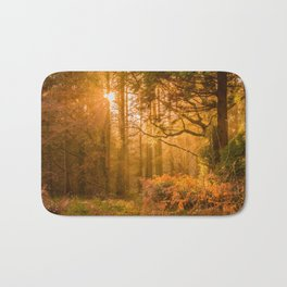 Autumn woods Bath Mat