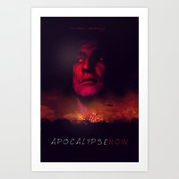 apocalypse now Art Prints featuring Apocalypse Now Poster by Mahdi Chowdhury