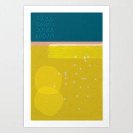 Sisi_ 3 abstract art Art Print
