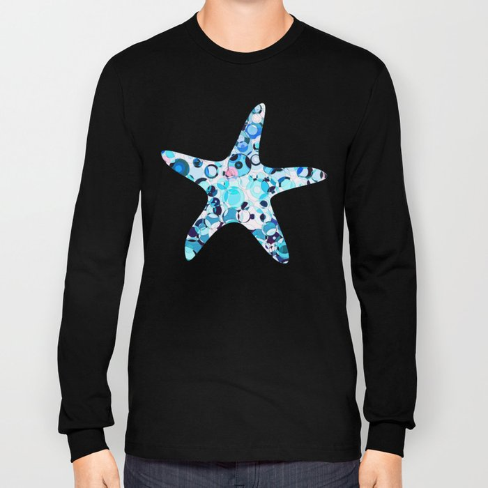 Aria in Aquatic Long Sleeve T-shirt