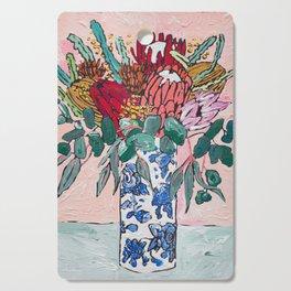 Australian Native Bouquet of Flowers after Matisse Cutting Board