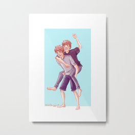 Weasley Antics  Metal Print