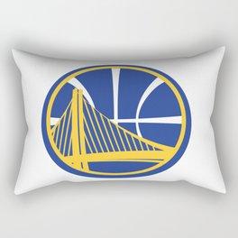 Golden State Warrior Logo Rectangular Pillow