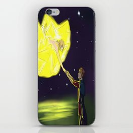 TO TOUCH A STAR iPhone Skin