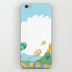 oh the places you'll go .. dr seuss iPhone & iPod Skin