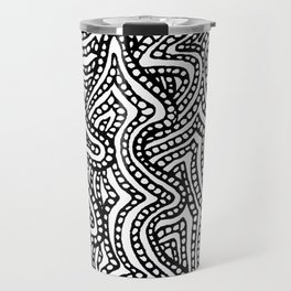 Abstract Xmas Trees Travel Mug