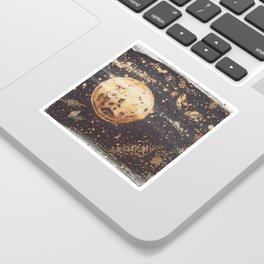Moonscape Sticker